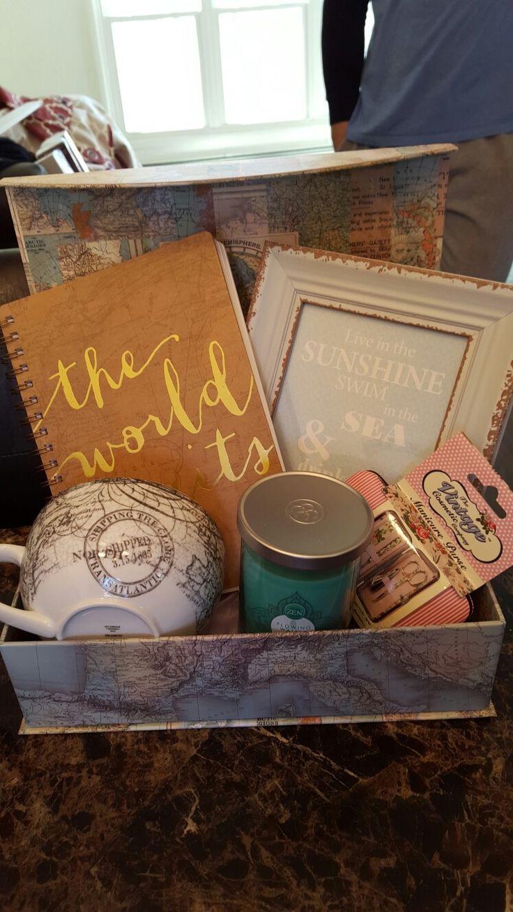Traveling Gift Basket
