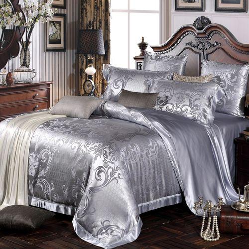 38 best images about quality silk bedding sheets on pinterest duvet covers silk bedding and - Parure de lit satin de soie ...