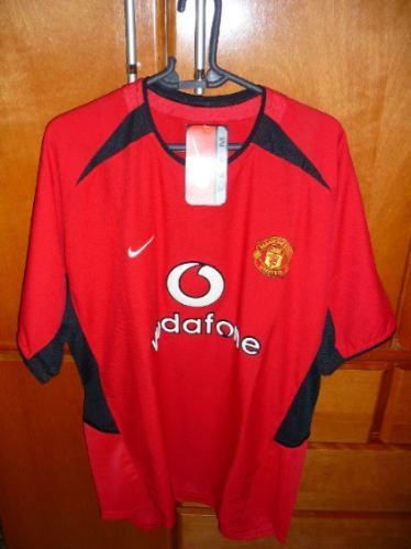Manchester United - no name, but bought in England