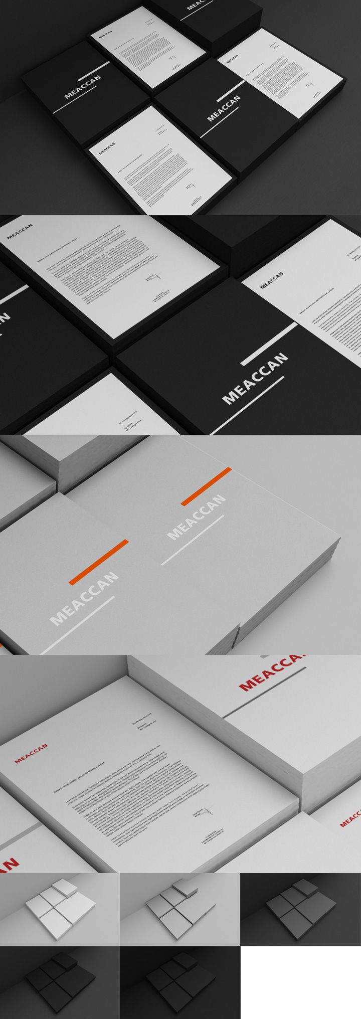 Free – Collection 6 - Mock Up 1 - Letterhead - Creative Particles