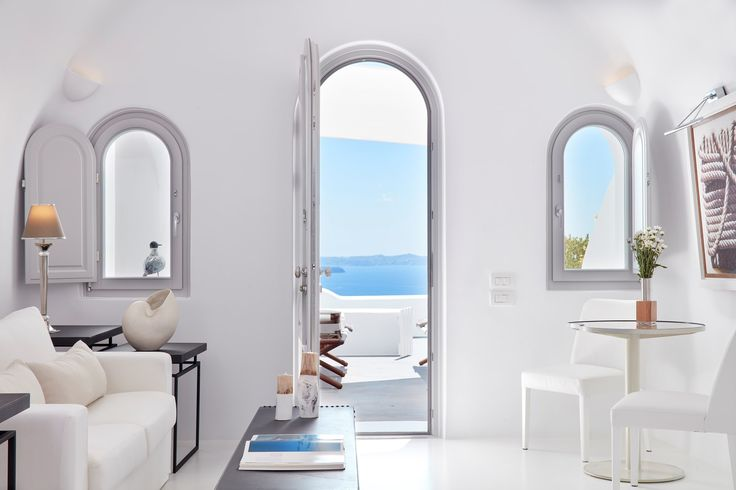 Experience Greece today in a Villa at Canaves Oia Villas!