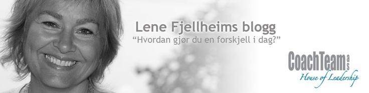 Lene Fjellheims blogg @lenefjellheim