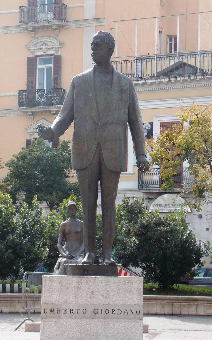 ...il grande compositore Umberto Giordano....Foggia ( Puglia)