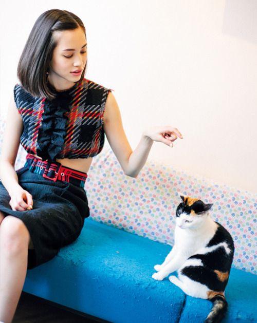 Kiko Mizuhara for VoCE Magazine June 2015