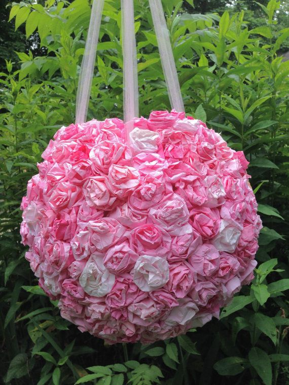 Wedding Pinata Anniversary Piñata Bridal Shower Pinatas Paper Flowers Painted