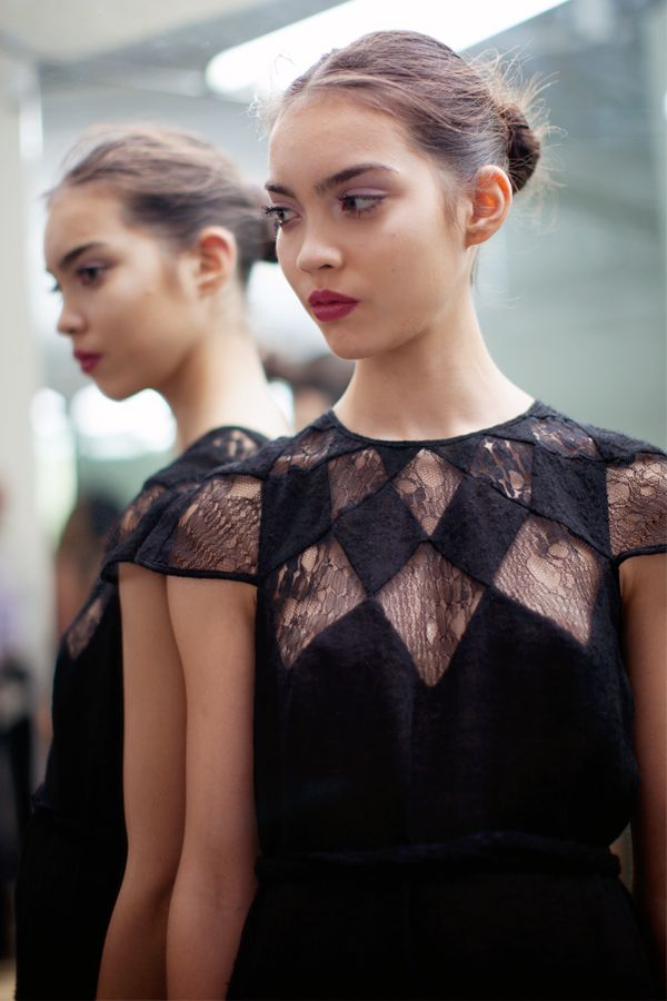 pretty lace detail // tocca spring 2013
