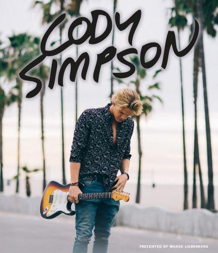 Cody Simpson Tour 2015 | drei Termine ab Mittwoch im Vorverkauf!