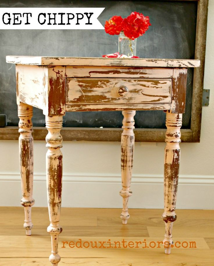 17 Best Images About Chippy Painted Furniture On Pinterest Miss Mustard Seeds Furniture And