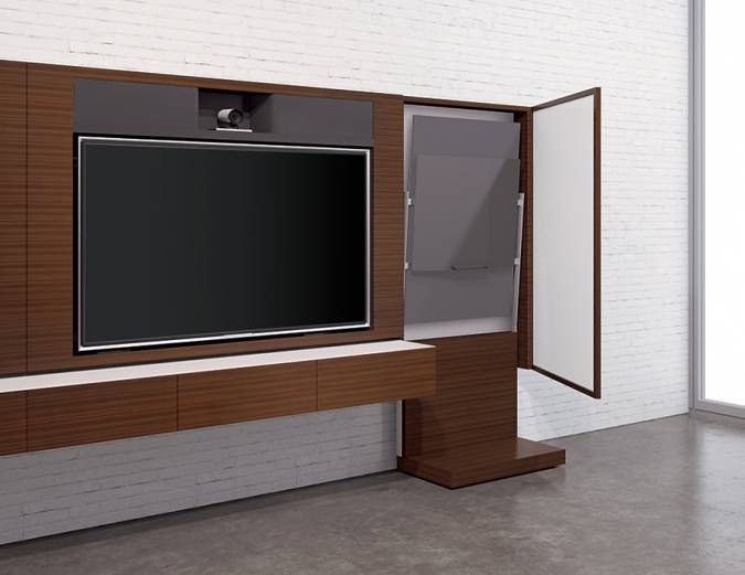 Luxury Conference Room Media Cabinet
