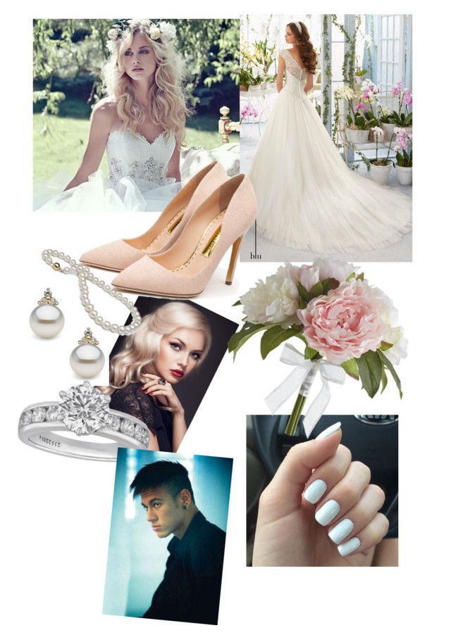 """Weeding Day"" by fashion-girl-katrina on Polyvore featuring Maggie Sottero, Rupert Sanderson, Tiffany & Co., Pier 1 Imports, women's clothing, women, female, woman, misses and juniors"