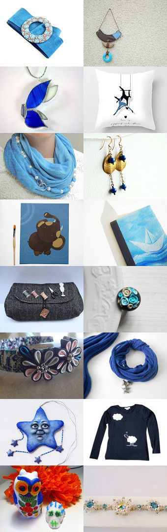 EIT in blue!  by Luca e Claudia on Etsy--Pinned with TreasuryPin.com