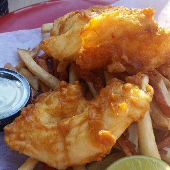 Pier 46 Seafood Market & Restaurant - Halibut and chips! - Templeton, CA, United States