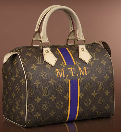 Louis Vuitton Mon Monogram Speedy 25