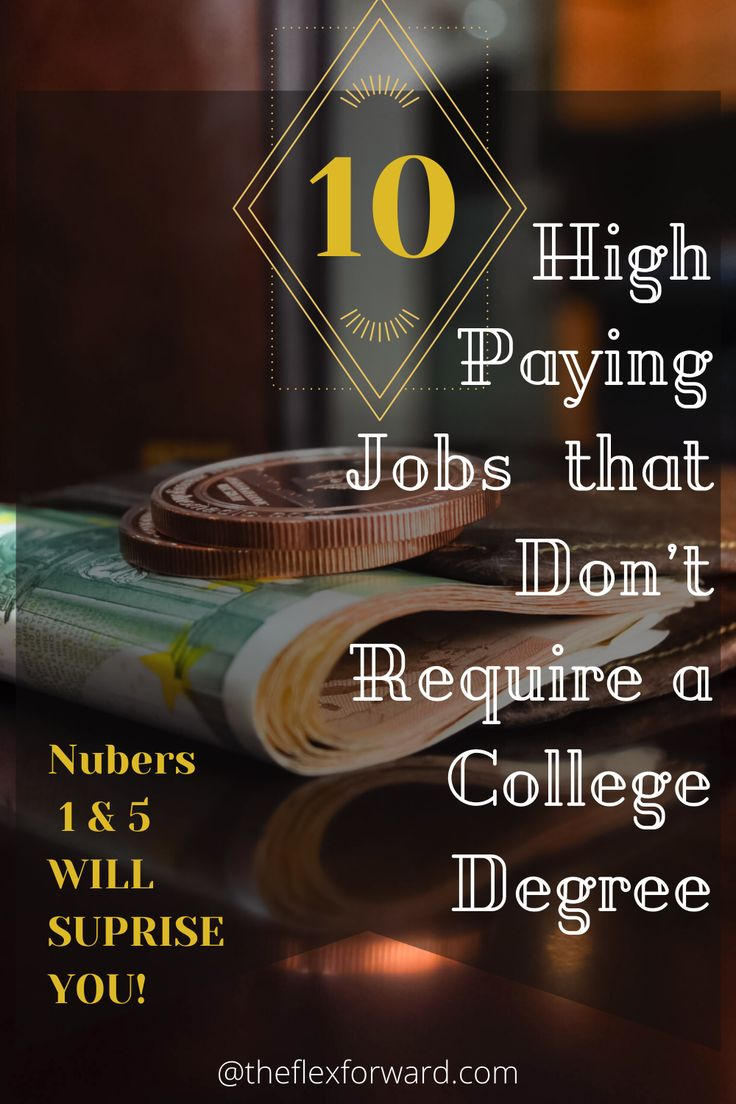 High Paying Jobs that Only Require a High School Diploma