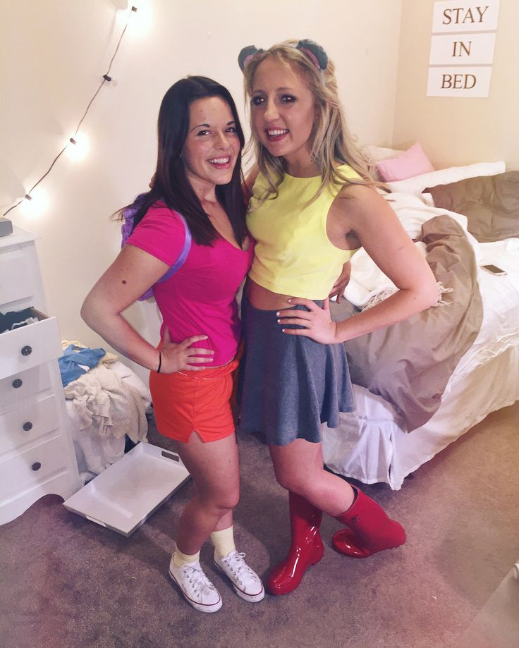 halloween costume idea dora and boots diy boots dora halloween college - Halloween Costume Ideas College Students