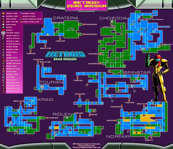 metroid map - Google Search