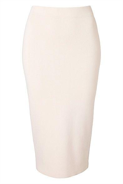 Knit Tube Skirt