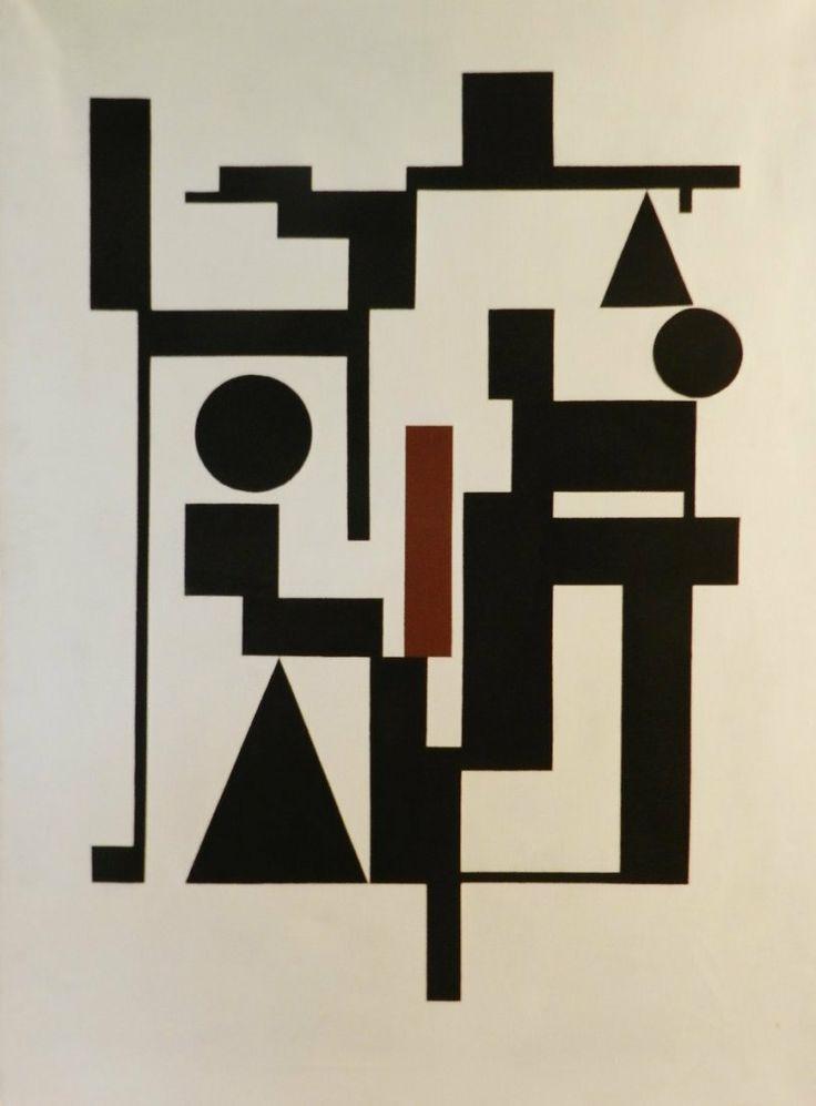 Carlos Merida (Guatemalan, 1891-1984), Attributed, oil on canvas