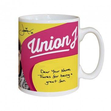 Union J mug - Josh Cuthbert, JJ Hamblett , George Shelley and Jaymi Hensley