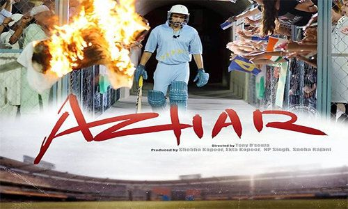 Azhar 2016 is an Indian film directed by Tony D'Souza. It is based on certain well known and highly talked about incidents and facts of the former Indian international cricketer Mohammad Azharuddin.