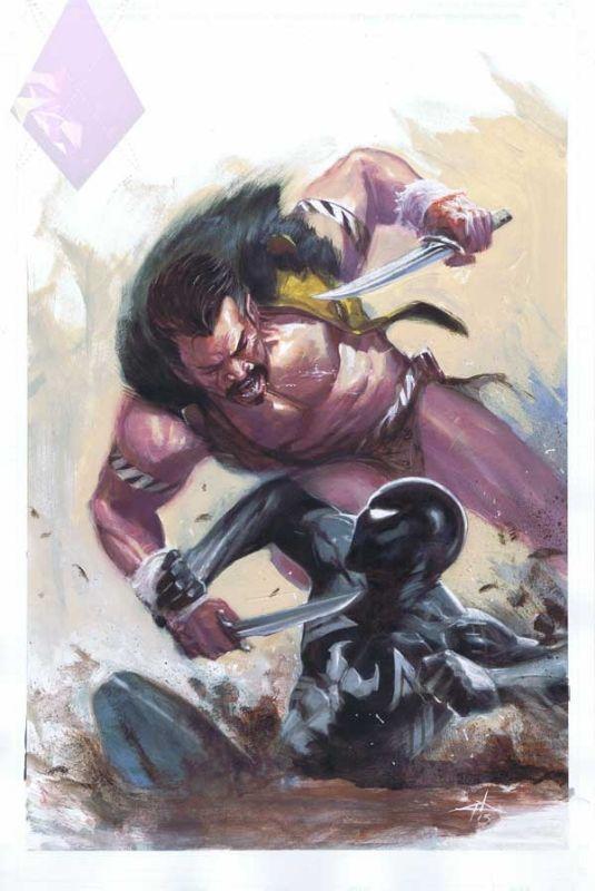 Spider-Man vs Kraven by Gabriele Dell'Otto