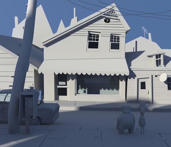 Lou's Toy Store by Moran Tennenbaum, via Behance