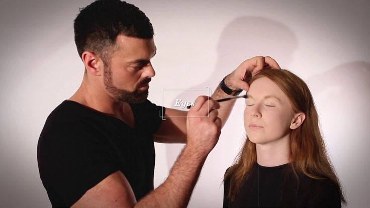 Perfect Face Ep 4 - Eyes #frockadvisor #SonyaLennon #BrendanCourtney #DerrickCarberry #Makeup #PerfectWinterFace #Eyes #AW13