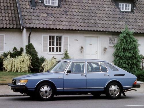 1979 Saab 900 GLE fast vit. Min 4. bil.
