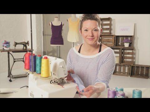 Cours de couture: Séduisante Surjeteuse - YouTube