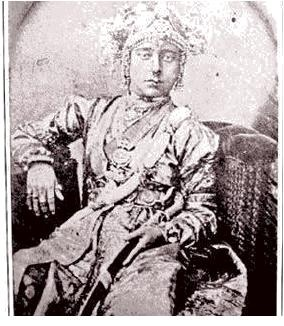 The original picture of Jhansi ki Rani Laxmi Bai. This picture was been  taken by the German photographer Hoffman 160 years ago. Lakshmibai, the Rani of Jhansi 1828 – 1858 was the queen of the Maratha-ruled princely state of Jhansi, situated in the north-central part of India. She was one of the leading figures of the Indian Rebellion of 1857 and for Indian nationalists a symbol of resistance to the rule of the British East India Company in the subcontinent.