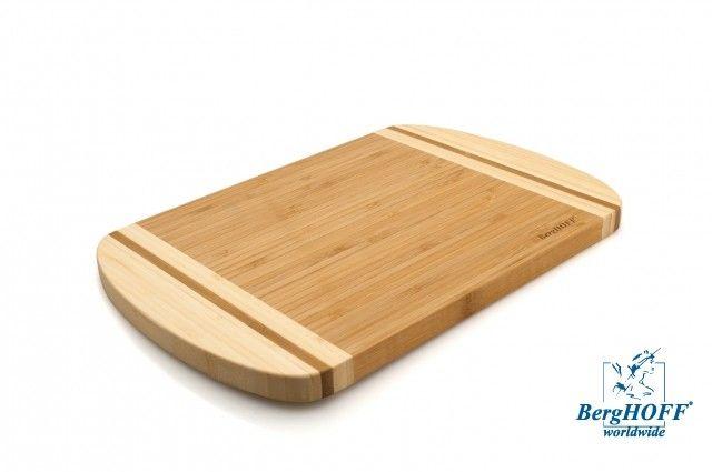 Deska Do Krojenia Z Bambusa Średnia 30X20X1,6Cm