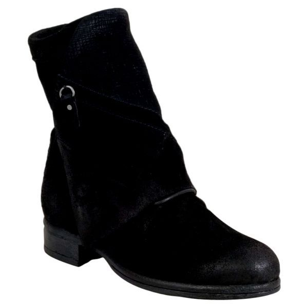Miz Mooz Yves Wrap Front Women's Lace Up Boot