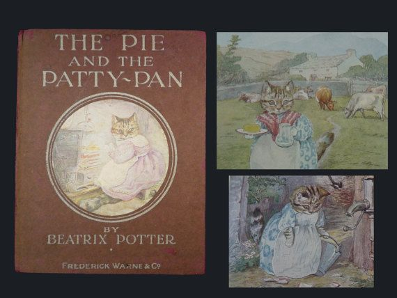 Beatrix Potter Book c1918 The Pie and the by APureVintage on Etsy