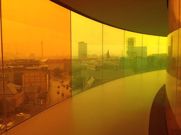 Regnbue gul