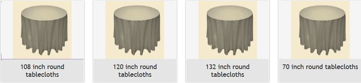 Rent Round #Tablecloths For Any #Occasion's
