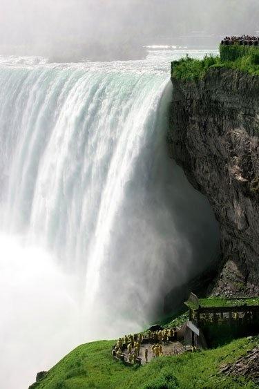 A Niagara vízesés, Észak-Amerika