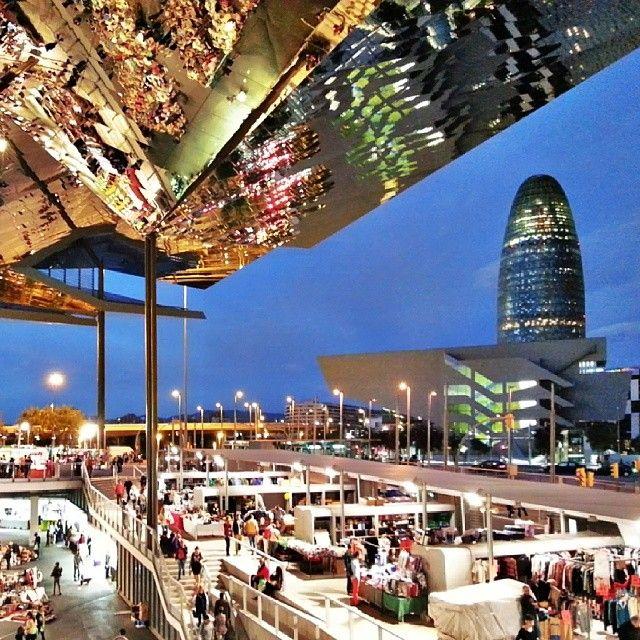 Mercat dels encants barcelona spain great places in - Encantes barcelona ...