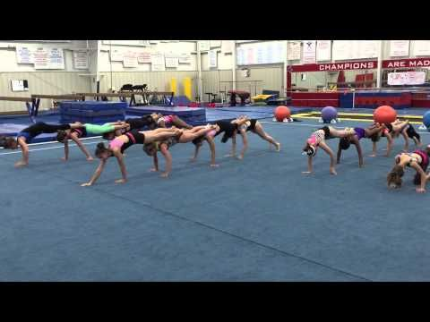 Fun with core conditioning! - YouTube