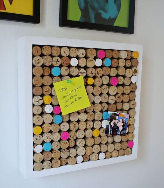 Las 25 mejores ideas sobre marco de corchos de vino en - Ideas para el hogar decoracion ...