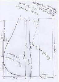 Resultado de imagem para molde touca cirurgica de tecido passo a passo