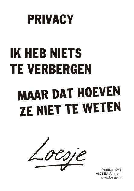 Leuks van Loesje