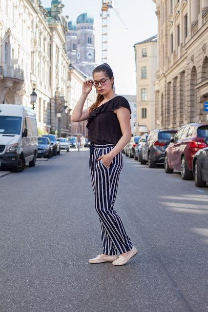 harem pants, harmemshose, coach slipper, fashion blogger outfit style, outfit inspiration, munich, münchen, glasses outfit, brille