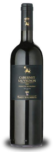 Cabernet Sauvignon Tasca d'Almerita's é um dos primeiros vinhos deste tipo, em pureza, ter sido produzido na Sicília, na famosa fazenda Regaleali, propriedade, historicamente conhecido como um das terras mais férteis da Sicília.