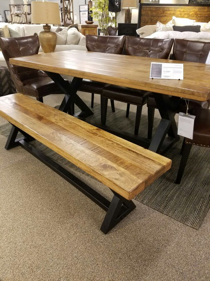 Bench Furniture Dining, Wesling Dining Room Bench