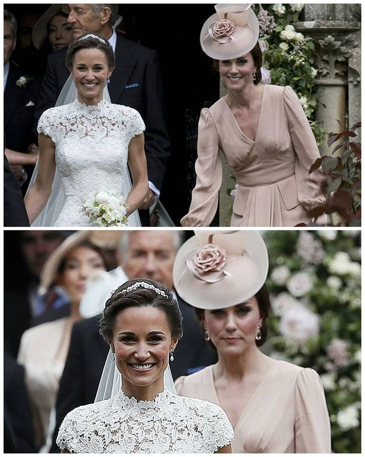 """2,196 Likes, 3 Comments - 👑 Catherine elizabeth 👑 (@_duchesskatemiddleton) on Instagram: """"#NEWS #TODAY 👰👰 The wedding of Pippa Middleton with James Matthews. Pippa Middleton stunned in a…"""""""