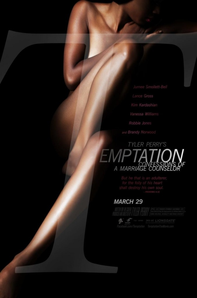 Tyler Perry's Temptation Movie Trailer & Poster