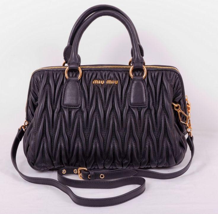 Женская сумка miu miu из натуральной мягкой кожи