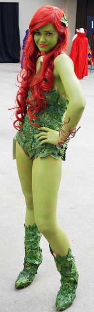 Toyriffic: Poisunday Ivy :: Poison Ivy Dragon Con Cosplay