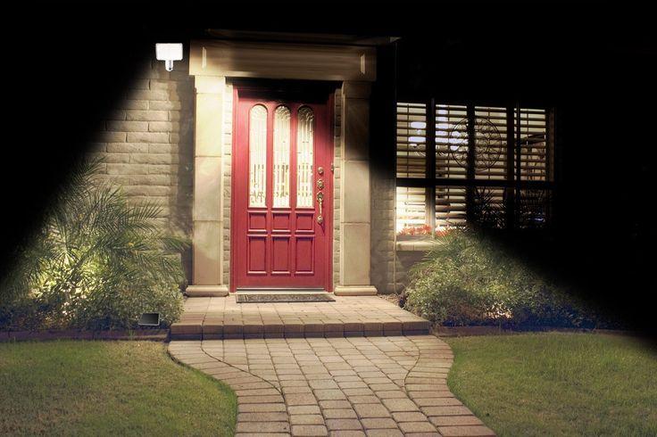 Front Door Solar Security Light