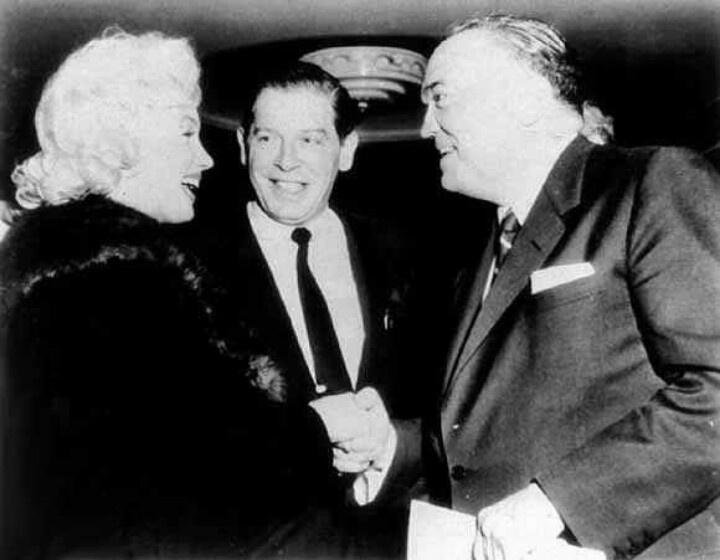 Milton Berle and J Edgar Hoover
